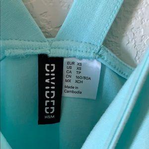 H&M Dresses - H&M Blue Skater Dress